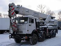 Аренда автокрана Скат КС-6574 40 тонн в Днепропетровске
