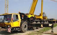 Аренда автокрана KRUPP 140 GMT-AT 140 тонн в Днепропетровске