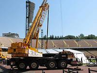 Аренда автокрана KRUPP 60 GMT-AT 60 тонн в Днепропетровске