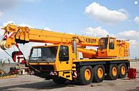 Аренда автокрана KRUPP KMK 4070 70 тонн в Днепропетровске, фото 1