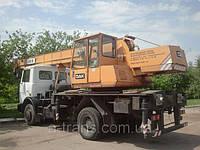 Аренда автокрана 16 тонн, услуги в Днепропетровске