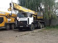 Аренда автокрана 25-32 тонны, услуги в Днепропетровске