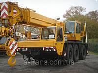 Аренда автокрана 40 тонн, услуги в Днепропетровске