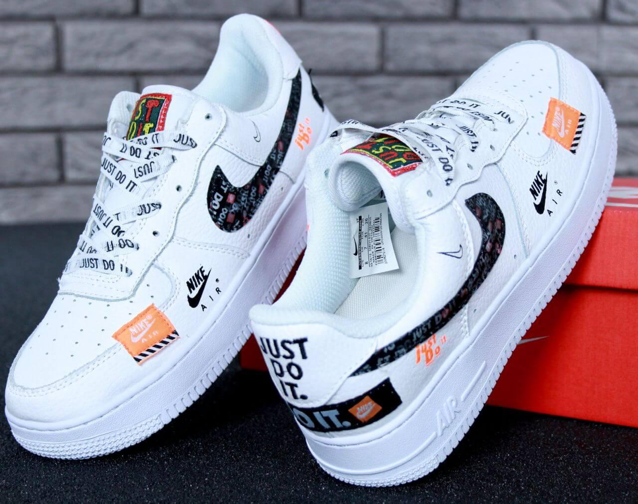 28127bee Кроссовки Nike Air Force 1 Low Just Do It Pack White купить в Киеве ...