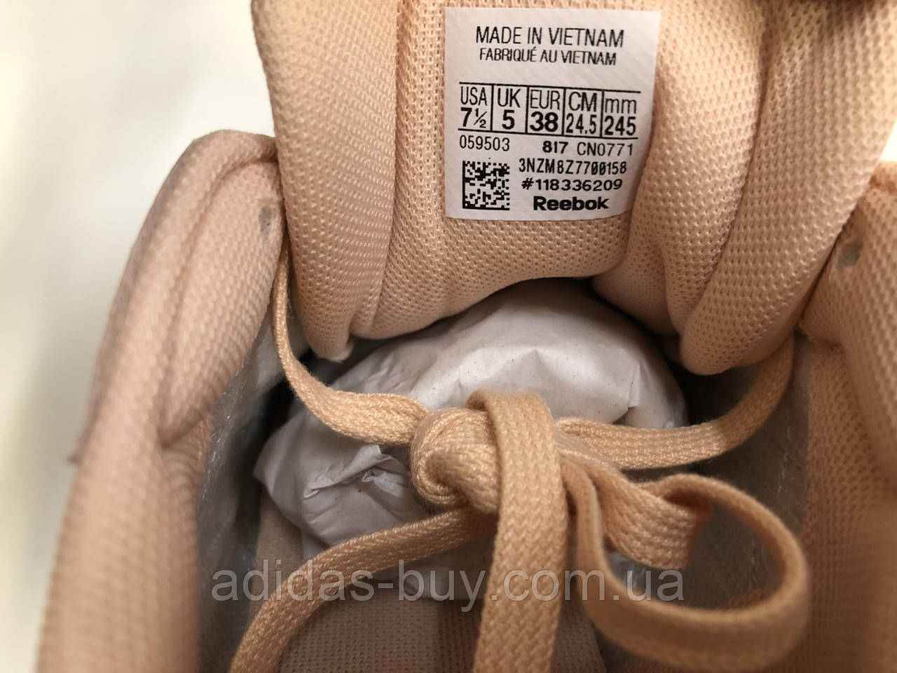 ... Женские оригинальные осенние кожаные кроссовки reebok CLASSIC LEATHER  PATENT CN0771, фото 7 28b5946278d