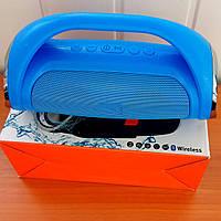 Мобильная Колонка SPS Mini Boom BASS. Портативная FM MP3 колонка bluetoothMP3 microSD+USB