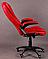 Стул офисный Красный , фото 3