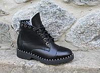 Зимние ботинки. Натуральная кожа. 2029