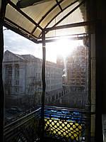 Утепление балкона мягкими окнами ПВХ