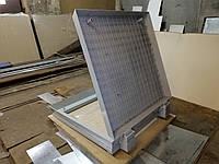 Потайной люк под брусчатку на амортизаторах тип Max 95х95 см
