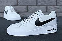 """Кроссовки мужские Nike Air Force """"Белые низкие"""" р. 41-45, фото 1"""