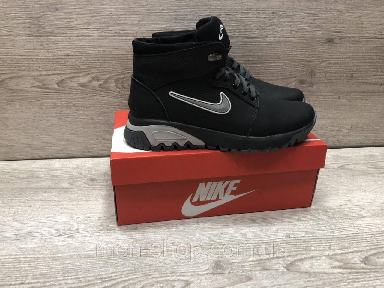 Зимние мужские ботинки в стиле NIKE