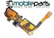 Шлейф (Flat cable) LG D405 Optimus L90 | D410 | D415 с разъемом зарядки, с микрофоном