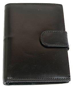 Вертикальное портмоне из натуральной кожи ALWAYS WILD SBLM03LCFL черный 10x13x2.5 см.