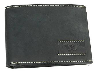 Мужское кожаное портмоне ALWAYS WILD SN992WA2 черный 13x9.5x3 см.