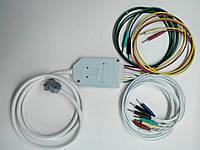 Кабель  отведений  ЭКГ  с  элементами  защиты