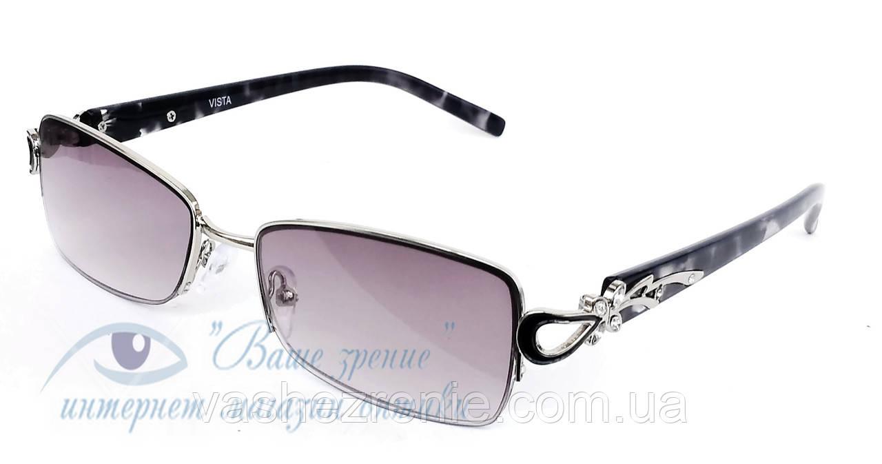 Окуляри жіночі для зору, з діоптріями +/- Код:2150