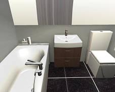 Прямоугольная акриловая ванна Paa Prelude, фото 3