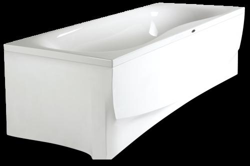 Прямоугольная акриловая ванна Paa Prelude