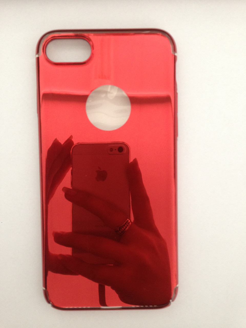 Чехол iPhone 7/8/SE 2020 Red Mirror