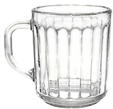 Кружка стеклянная  ретро 200 мл, фото 3