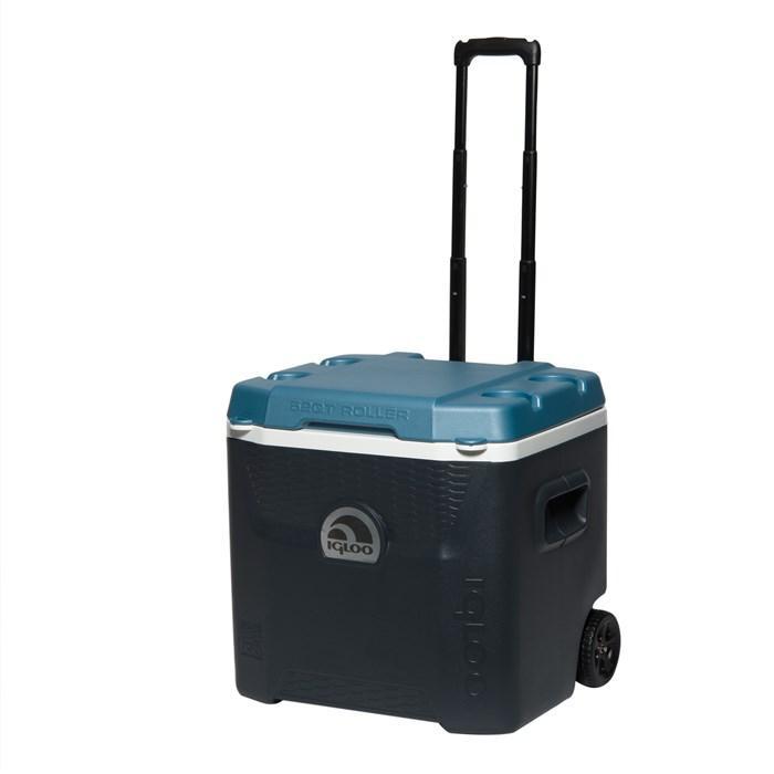 Термобокс Igloo Quantum 52 Roller, темно-синий