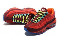 """Кроссовки Nike Air Max 95 OG """"Red/Blue"""" (Красные/Голубые), фото 2"""