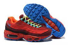 """Кроссовки Nike Air Max 95 OG """"Red/Blue"""" (Красные/Голубые), фото 3"""