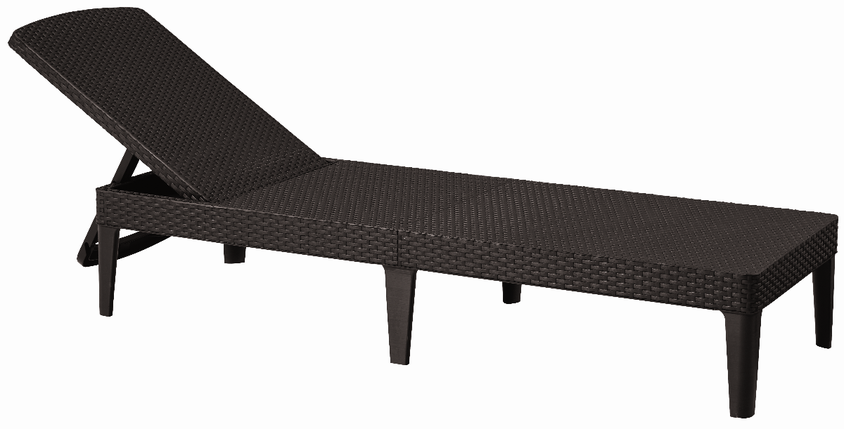 Шезлонг Allibert Jaipur Sun lounger, виски коричневый (8711245144894), фото 2