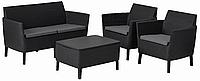Набор мебели Allibert Salemo set, графит - прохладный серый (8711245145297)