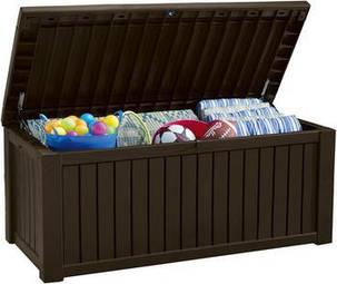 Ящик для хранения Keter ROCKWOOD STORAGE BOX 570 л (7290103664084), фото 2