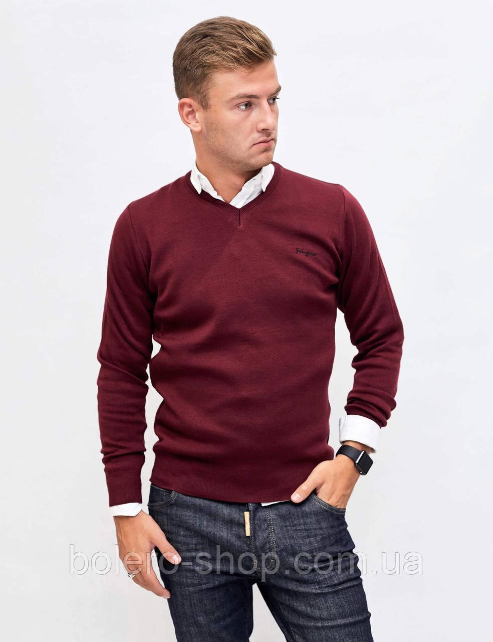 Мужской свитер пуловер Ferragamo в цветах
