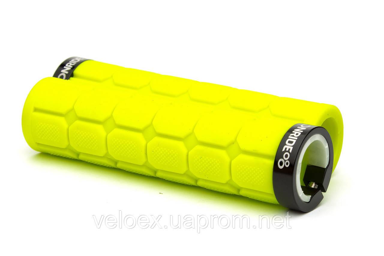 Ручки руля ONRIDE GripControl лайм