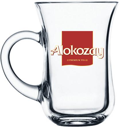 Турецкий стакан, Армуд с ручкой 145 мл