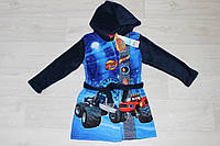 Детский халат с капюшоном для мальчиков Blaze, 3 года
