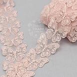 """Кружево """"Бабочки"""" розового цвета, ширина 5 см, фото 3"""