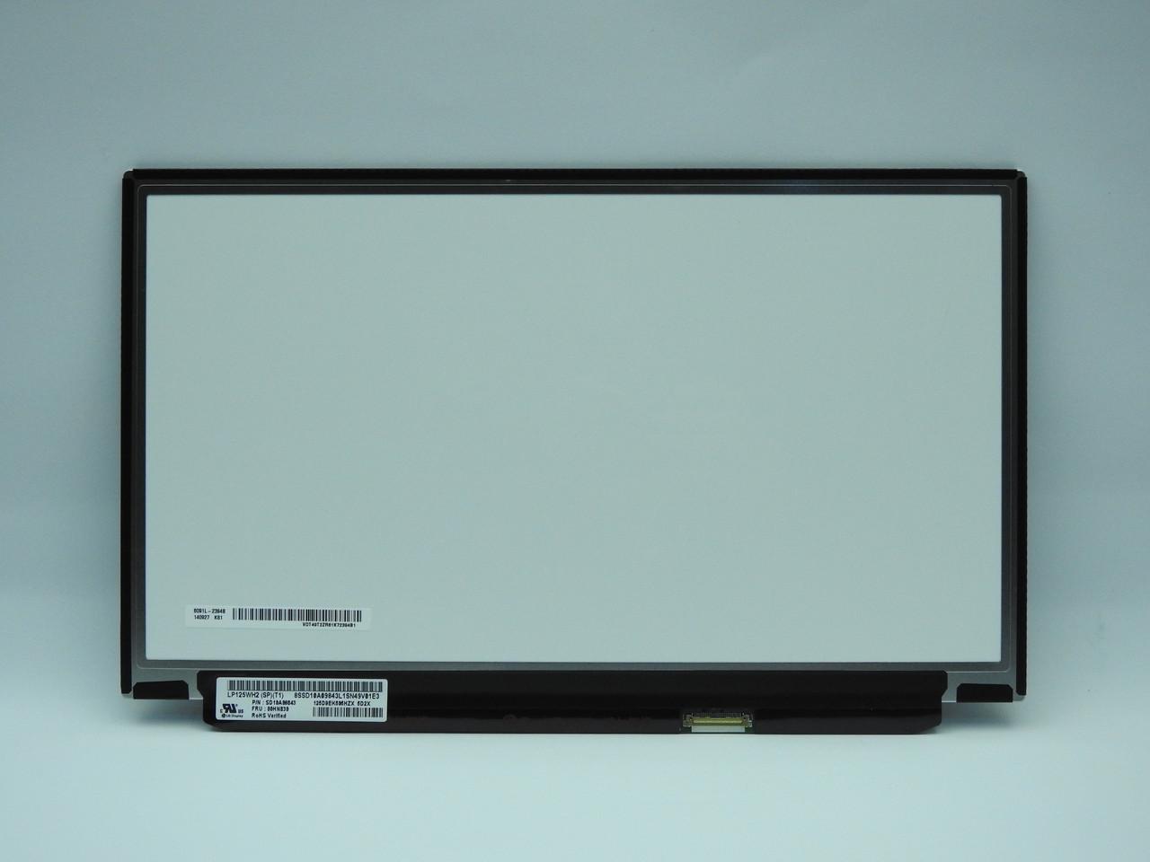 New. Матрица (дисплей) Lenovo X240 X240S HD IPS LP125WH2(SP)(T1) 00HN830