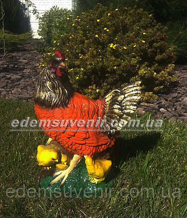 Садовая фигура Курица наседка, фото 2