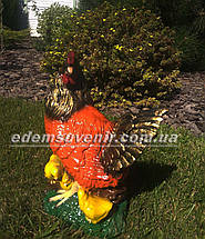 Садовая фигура Курица наседка, фото 3
