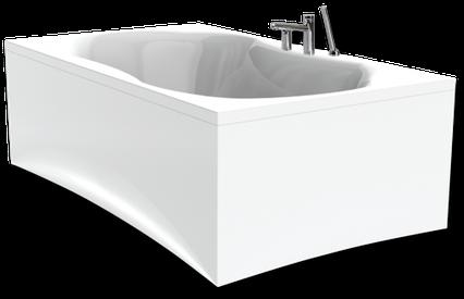 Прямоугольная акриловая ванна Paa Fanfara, фото 2