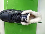 Чоловічі зимові кросівки New Balance 574 Winter Blue, фото 6