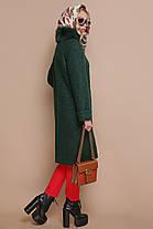 Зимнее кашемировое пальто с натуральным мехом размеры 42 размер, фото 2