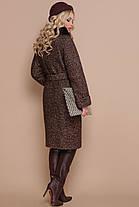 Зимнее кашемировое пальто с натуральным мехом размеры 42 размер, фото 3