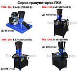Гранулятор ГКМ 200, 200 кг/час, 5.5 кВт -7.5 кВт, фото 6