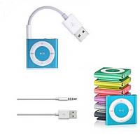 Переходник USB - Jack 3.5mm для MP3 плейера Apple iPod Shuffle