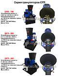 Гранулятор ГКМ 200, 200 кг/час, 5.5 кВт -7.5 кВт, фото 8