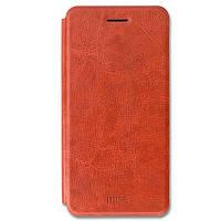 Кожаный чехол (книжка) MOFI Rui Series для Xiaomi Mi 8 SE Коричневый