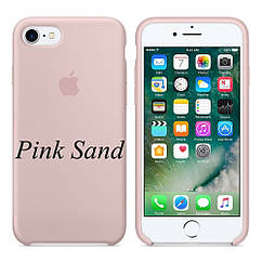 "Apple silicon case iPhone 7 ""Pink Sand"""