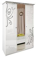 Шкаф Богема 3Д (с зеркалом) Миро-Марк