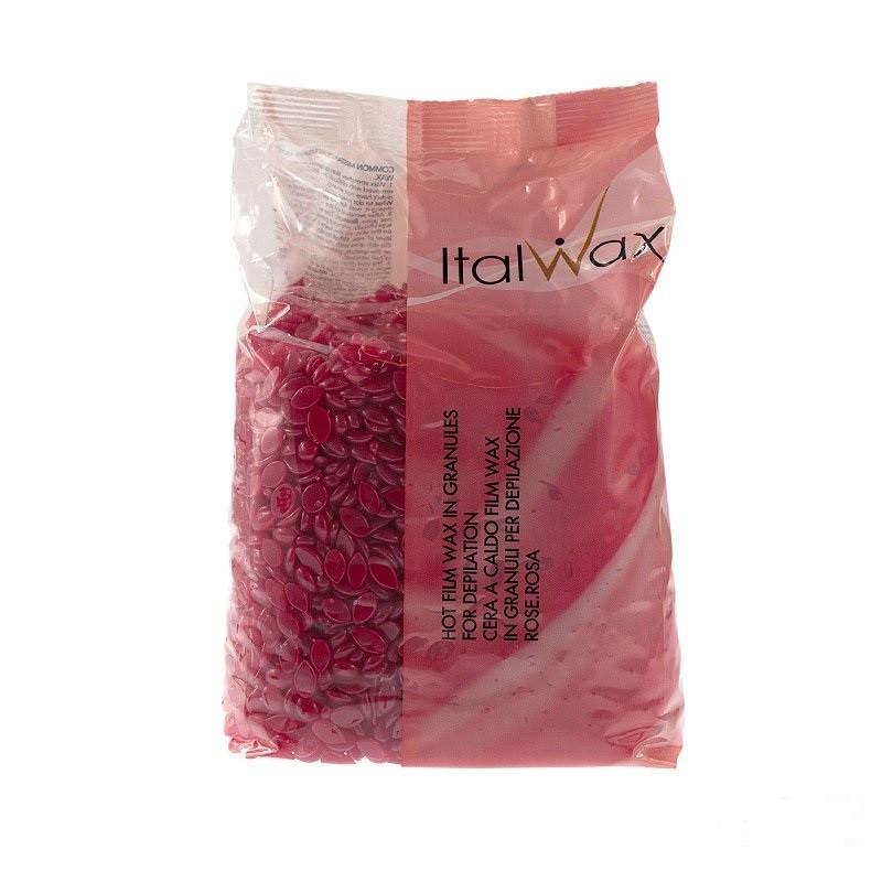 Воск горячий в гранулах ItalWax роза 1 кг